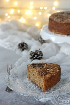 """Aquafaba cake with blackthorn jam and sweet paprika. A """"magic"""" ingredient for a delicious, soft, healthy cake. Healthy Cake, Healthy Treats, Aquafaba, Vegan Sweets, Sweet And Salty, The Dish, Sweet Recipes, Yummy Food, Desserts"""