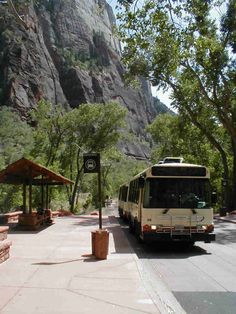 The Zion Canyon shuttle bus resumes operation on Friday, April 1st. The shuttle bus stop is a short stroll from our lodge, cross the foot bridge into the national park. The Springdale town shuttle picks up in front of Sol Foods Market, which is adjacent to the lodge.  Click the link to view the Spring Schedule. http://www.parkstransportation.com/index_files/2010SpringFallShuttleScheduleForTownBusinesses.pdf