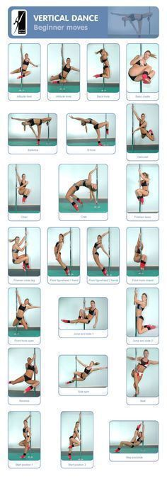 Fitness : Pole Dancing : Vertical Dance : Beginner Moves ...... Kur #PoleDanceSilhouette