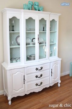 Fabulous China Hutch Makeover Betterafter