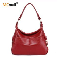 Women Handbag Genuine Leather Bag for Women Messenger Bags Designer Crossbody Bags Women Luxury Tote Retro Shoulder Bags SD-805 -- Read more  at the image link.