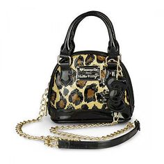 Purple Leopard Boutique - Hello Kitty Leopard Embossed Micro Dome Crossbody Bag Purse Animal Print, $52.00 (http://www.purpleleopardboutique.com/hello-kitty-leopard-embossed-micro-dome-crossbody-bag-purse-animal-print/)