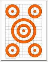 Free printable targets for gun, rifle, pistol and archery shooting.