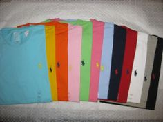 Men's Polo Ralph Lauren Crew-Neck T-Shirts