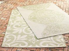 Martha Stewart Living™ Bloomfield All Weather Area Rug   Martha Stewart Rugs    Outdoor