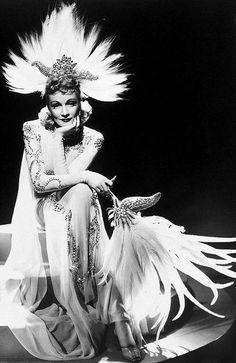The great Marlene Dietrich