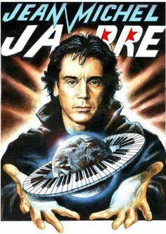 Jean Michel Jarre, Cultural Events, Art Graphique, Electronic Music, Trance, Illustrations Posters, Techno, Culture, Concert