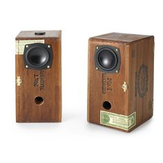 Cigar Box Speakers