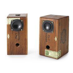 Cigar Box Speakers