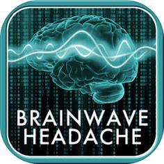 Brain Wave Headache Relief - Advanced Binaural Brainwave Entrainment - Banzai Labs - My Healthy App Tension Headache, Headache Relief, Pink Noise, Health And Fitness Apps, Ios, Athletic Trainer, Headache Remedies, Deep Relaxation, Making Life Easier