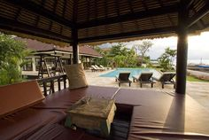 The Bale Benong, a nice place for relaxing