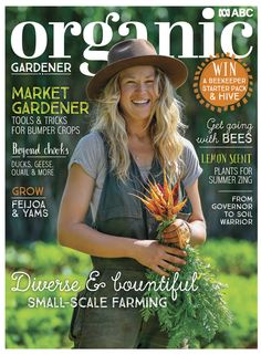 With summer in full swing we explore hardy, heat-tolerant plants to grow and how to transform your backyard swimming pool into a billabong! Plus, we visit two wonderful working farms - Buena Vista on the NSW South Coast, and Wynlen House in the state's Southern Tablelands. Plus, we show you how to get started with bees.  With all this and much, much more it's your ideal summer reading! Bee Keeping, Summer Plants, Swimming Pools Backyard, Organic Gardening, Garden Art, Magazine, Yams, Grow Your Own, Fruits And Vegetables