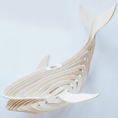 Whale lamp 3d Materials used: wood, plywood.material thickness 4 mm What you get: You will download 1 ZIP file containing the following: the CDR file the DXF file These files are vector-based and compatible with all laser cut software, milling machine, CNC CNC plasma cutting machine