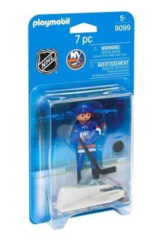 PLAYMOBIL NHL New York Islanders Player Playset 9099 Kids Hockey Game Toy New #PLAYMOBIL #NewYorkIslanders