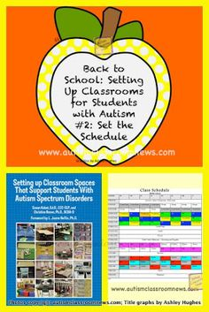 Autism Classroom News: http://www.autismclassroomnews.com Back to School: Setting Up Classrooms for Students with Autism