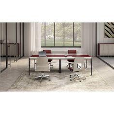 Tables de reunion design · Table de conférence X9 pour 8 personnes –  Officity. 95f0e32ea3b4