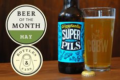 The Hop Review – Interviews & Beer Banter – Beer of the Month - May: 5 Rabbit Super Pils Beer Of The Month, Bottle Shop, May, Travel Photography, Rabbit, Interview, Awesome, Glass, Bunny
