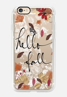 Hello FALL Casetify iPhone 7 Case and Other iPhone Covers - TITLE by Li Zamperini | #Casetify
