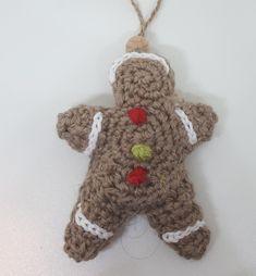 gingerbread man crochet pattern