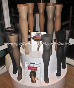 Hanes Hosiery Celebrates 75th Anniversary of Nylon Stockings & New Silk Reflections Collections - My Life on (and off) the Guest List