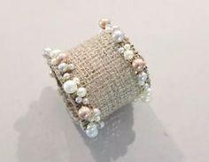 Handmade Burlap Napkin Rings 009