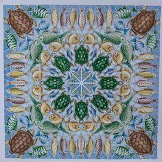 zuzka.hanova (Zuzana Hánová) on Instagram   #Lost Ocean page 4-Square Turtle Mandala