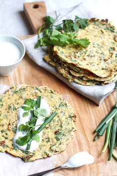 herbed savory crepes