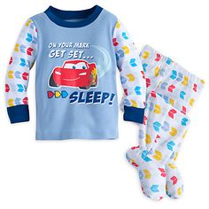 Lightning McQueen Footed PJ PALS for Baby | Disney Store