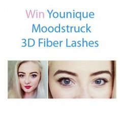 Win Younique Moodstruck 3D Fiber #Lashes ^_^ http://www.pintalabios.info/en/fashion-giveaways/view/en/3457 #International #MakeUp #bbloggers #Giweaway