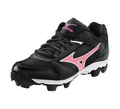 Who's ready for softball season to start? // Mizuno® Womens Finch Franchise 4 Softball Cleat | Scheels