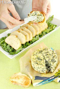 Savory Spinach & Artichoke Cheesecake