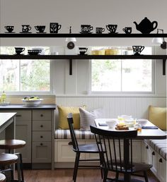 Tea Cups Wall Decal on The Decal Guru. #decal #kitchen