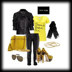 yellows, created by mimieismannteneyck on Polyvore