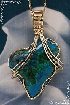 Heart Pendants Women's Pendants Gold Women's by IMPRESSIONSbyAnnie