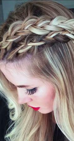 Double dutch braid → http://youtu.be/fVxrRl5abz0