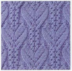lace knitting stitch 37