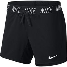 Nike Women's Dry Training Shorts, Sweat-Wicking Running Shorts Women Need for High Intensity Comfort, Black/White, M Nike Outfits, Sporty Outfits, Chic Outfits, Summer Outfits, Fitness Outfits, Workout Outfits, Summer Shorts, Nike Shorts Women, Shorts Nike