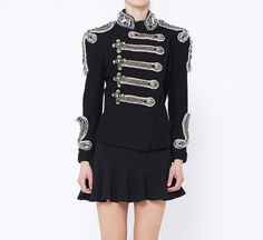 Balmain Black And Silver Jacket.... So if somebody really loves me they should get me this.