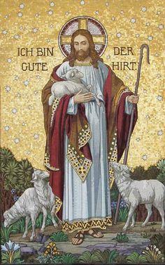 """DICE JESÚS : """"Yo soy el buen pastor"""""""