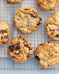 These home-run treats cover all the bases: They're chewy and rich, sweet and nutty. Dried apricots or dates would also work well here. For tropical taste, skip the oats, and add in an equal amount of sweetened shredded coconut.