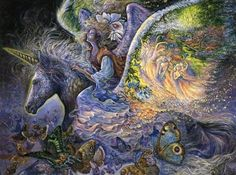 Beautiful art - Josephine Wall :-) (35 pieces)