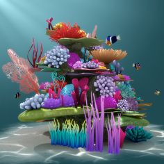 Timestamps DIY night light DIY colorful garland Cool epoxy resin projects Creative and easy crafts Plastic straw reusing ------. Under The Sea Decorations, Under The Sea Crafts, Under The Sea Theme, Under The Sea Party, Coral Reef Craft, Arte Coral, Underwater Theme, Ocean Party, Ocean Themes