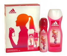 Adidas 2 piece body spray & shower gel fruity rhythm gift set