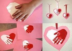 Awesome Handmade Valentine's Day Cards for Kindergarteners and Preschoolers / Arts and Crafts Activities for Kids. Valentine Day Crafts, Happy Valentines Day, Holiday Crafts, Holiday Fun, Art For Kids, Crafts For Kids, Arts And Crafts, Diy Crafts, Preschool Crafts