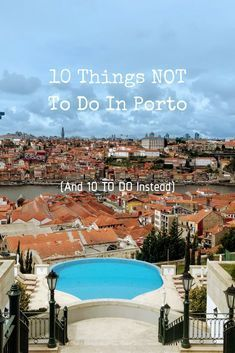 Porto is a popular city. Here's a list of alternative things to do in Porto so you can see the best of what to do in Porto without the slowing crowds. portugal 10 Things NOT To Do in Porto (and 10 To Do Instead) Visit Porto, Visit Portugal, Spain And Portugal, Portugal Vacation, Portugal Travel Guide, Portugal Trip, Oh The Places You'll Go, Cool Places To Visit, Places To Travel