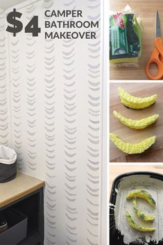 $4 DIY Sponge Paint Pattern Wallpaper – Check out these awesome patterns!
