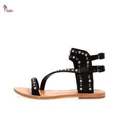 CAFÈ NOIR GE204 DES SANDALES Femme NERO 39 - Chaussures caf noir (*Partner-Link)
