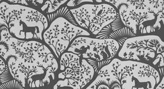 Items similar to Thomas Paul for Duralee Fabric: Forest- Noir on Etsy