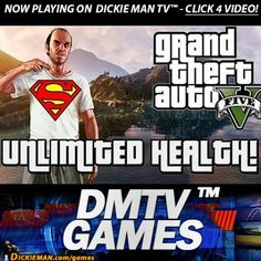 ★GAMES★ GTA V: The Invincibility cheat. http://dickieman.com/games