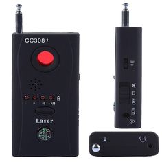 Mini Anti-Spy Signal Radio Freqency Détecteur de Caméra Cachée Lentilles Laser GSM Dispositif Finder Détecteurs